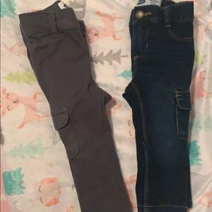 NWOT jeans for baby girl